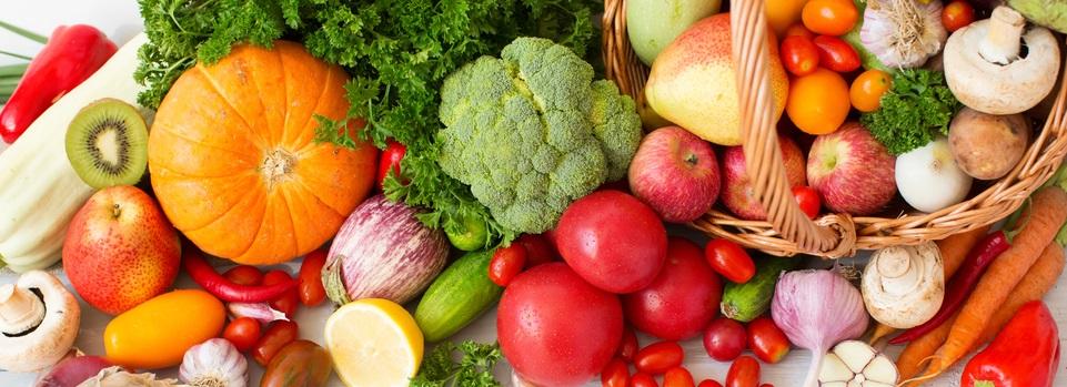 organic produce - September slider