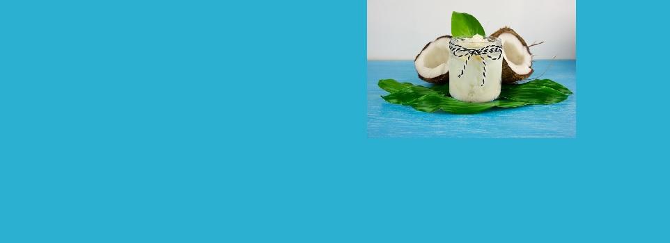coconut oil slider